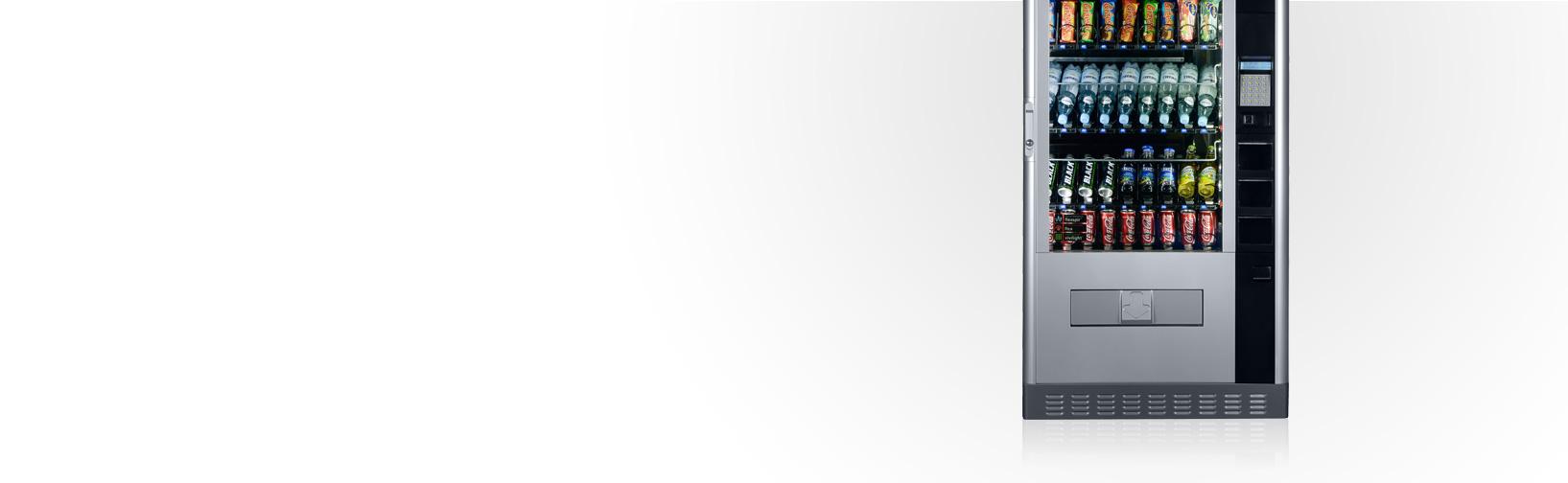 Automaty firmy Rheavendors do sprzedaży przekąsek